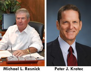 Attorneys Michael L. Resnick Peter J. Krotec Receive AV Preeminent® Ratings resnick and krotec 0