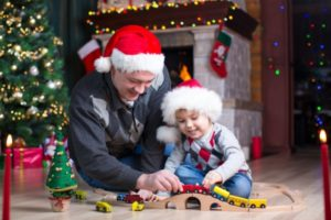 4 Tips for Crafting a Holiday Parenting Schedule father son christmas 0 300x200