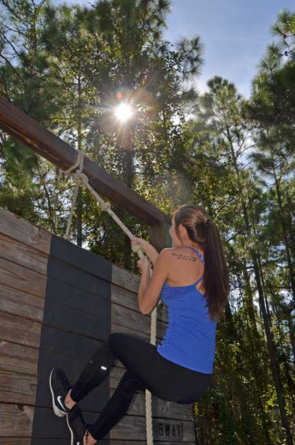 Syprett Meshad Supports Veterans Via GreenZone Event sunburst girl